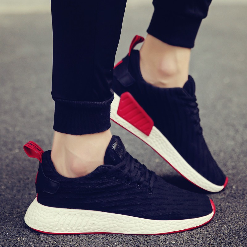 Men's sports shoes are breathable and dynamic Korean style