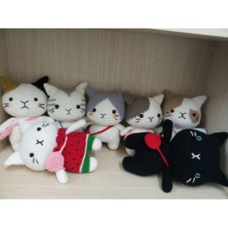 Set 7 mèo len