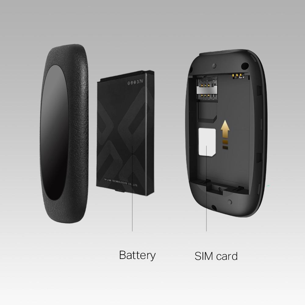 [Mã 267ELSALE hoàn 7% đơn 300K] Bộ phát Wi-Fi Di Động 4G LTE TP-Link M7000
