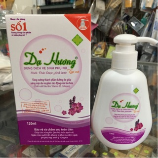Dung dịch vệ sinh phụ nữ Dạ Hương hương Lavender 120ml 1