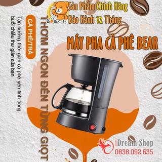 Máy pha cà phê cafe hạt tự động mini gia đình Bear chuẩn vị Espresso Capuccino cao cấp chính hãng