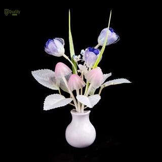 Flowers Mushroom Bedroom Decor Light Sensation LED Night Light Bed Lamp Night Lamp