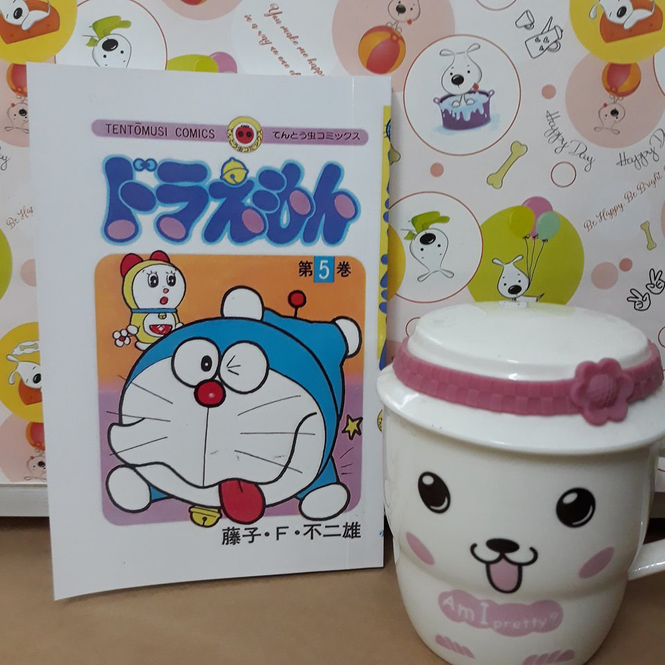 Truyện tranh tiếng Nhật Doremon Tập 6 - MuaZii
