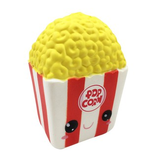 Silly Cartoon Popcorn Charm Slow Rising Squeeze Pressure Stress Reliever Toys