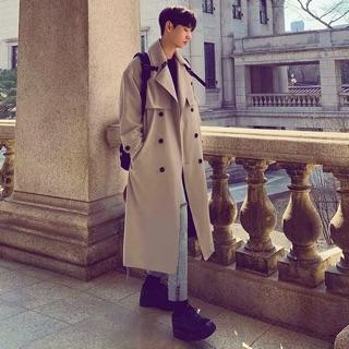 (Hàng đặt trước) Áo măng tô nam phong cách Hàn Quốc