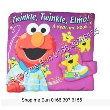 SÁCH VẢI Twinkle twinle Elmo
