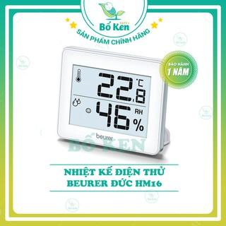 Shop Bố Ken Nhiệt Ẩm Kế Điện Tử BEURER MODEL HM16 [Hàng Chính Hãng - Thương Hiệu ĐỨC] thumbnail