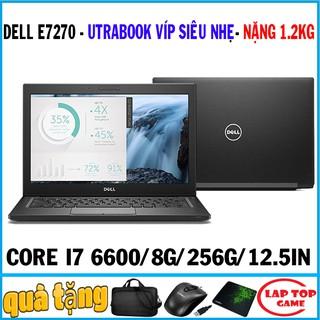 Yêu ThíchDell Latitude E7270 siêu mỏng core i7-6600U,laptop cũ chơi game cơ bản đồ họa