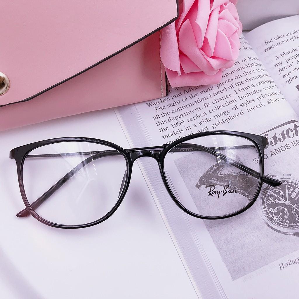 Gọng kính nhựa dẻo Hàn Quốc - Quai kính uốn dẻo kim loại cao cấp MS113