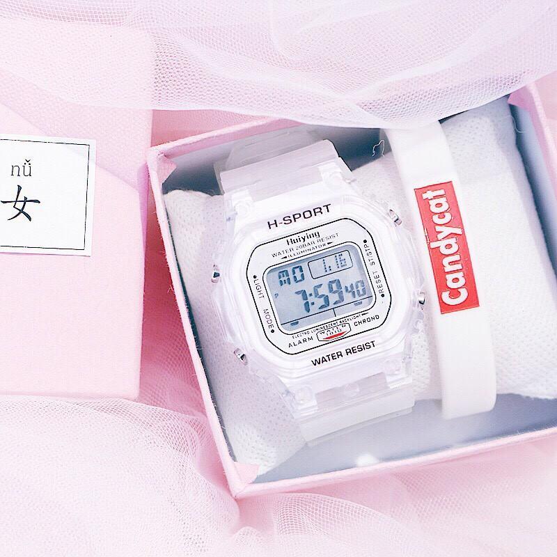 Đồng hồ điện tử nam nữ H - sport cá tính J2530