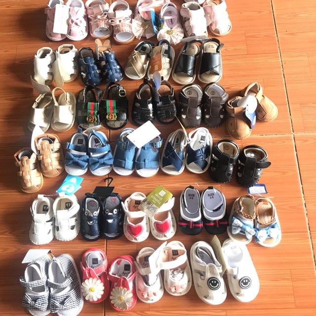 giày tập đi cho bé 0-18m