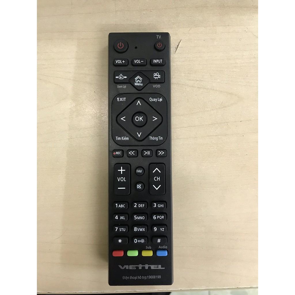 Điều khiển Viettel - Remote đầu thu Viettel Hàng chính hãng.