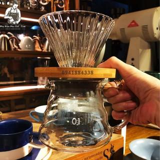 Bộ Bình Pha Cà Phê Drip Coffee V60 600ML thumbnail