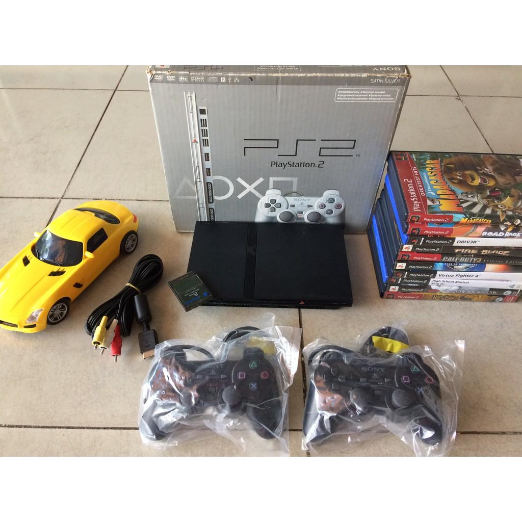 Máy PS2 Slim (Playstation 2 mỏng) chơi tất cả trò