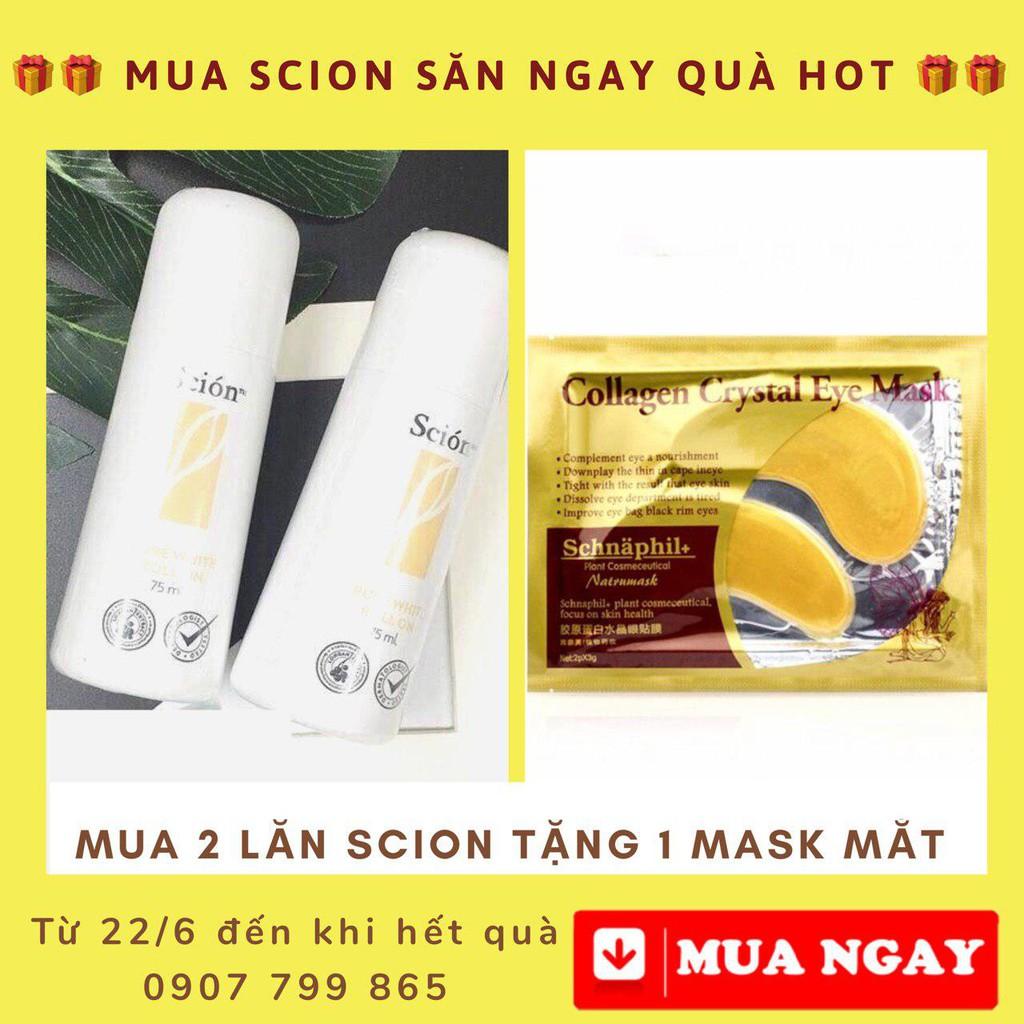 Lăn khử mùi Scion giúp giảm hôi nách số 1 tại Việt Nam - Tặng ngay 1 Mask mắt khi mua 2 chai