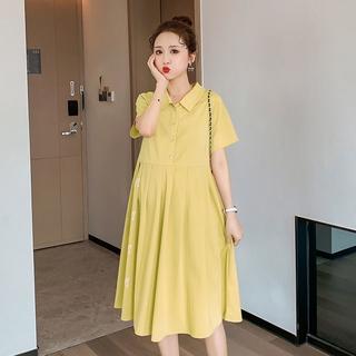 Đầm Bầu Thoải Mái Phong Cách Hàn Quốc