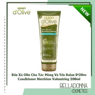 Dầu Xả Olive Cho Tóc Mỏng Và Yếu Dalan D Olive Conditioner Nutrition Volumizing 200ml thumbnail