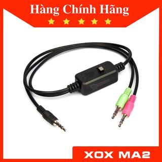 Dây livestream XOX MA2 dây live 3 màu dành cho sound card mic thu âm Facebook, Bigo