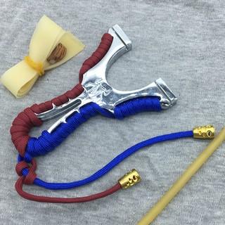 NÁ CAO SU – NÁ CAO SU NHỆN KIM LOẠI (tặng kèm 2 dây dẹt dày 1mm + 1 túi bi sắt 7mm)