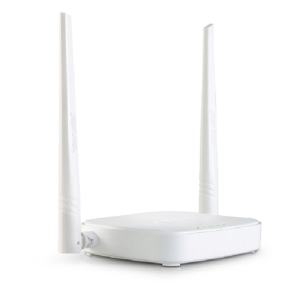 [NHẬP MÃ GTAUG1971 HOÀN 30.000] (GIÁ SỐC) Bộ phát sóng wifi + Chia 4 cổng Lan Tenda N301 Chính Hãng