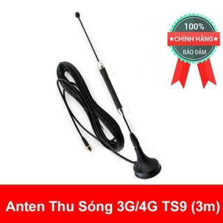 (Rẻ Vô Địch) Anten thu sóng 3G 4G LTE cho cục phát wifi chuẩn SMA TS9