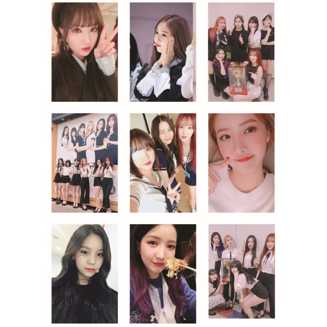 Lomo card ảnh nhóm GFRIEND update Twitter full 54 ảnh