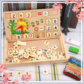 Giá Sốc- Bảng gỗ toán học thông minh phát triển trí tuệ cho bé [ SP039331] [Siêu Chất]