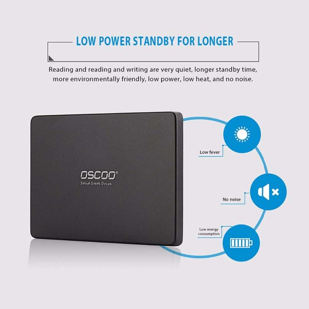 60G 120G 240G SATA 3 Internal 2.5 Inch High Speed Anti-shock Laptop HDD Solid State Disk