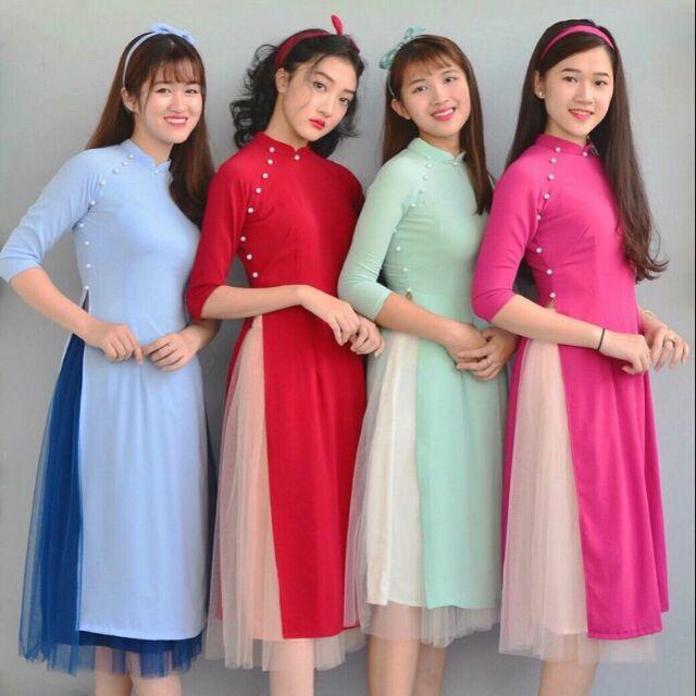 SALE MẠNH Sét áo dài cách tân