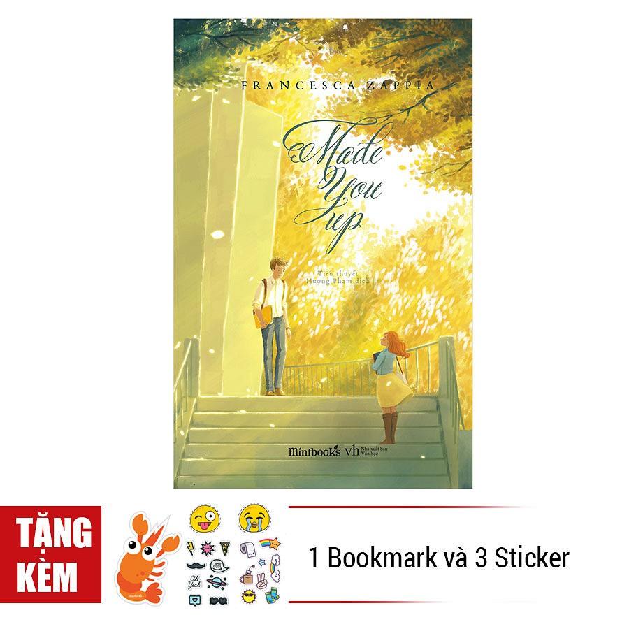 [ Sách ] Made You Up - Tặng Kèm 1 Bookmark Và 3 Tấm Sticker - 2980544 , 870832108 , 322_870832108 , 129000 , -Sach-Made-You-Up-Tang-Kem-1-Bookmark-Va-3-Tam-Sticker-322_870832108 , shopee.vn , [ Sách ] Made You Up - Tặng Kèm 1 Bookmark Và 3 Tấm Sticker