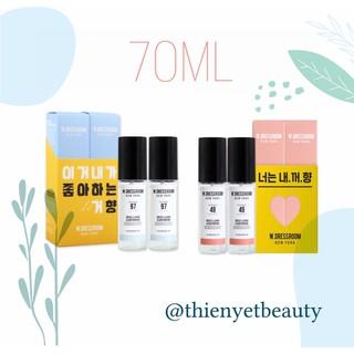 70ml - Nước hoa xịt thơm quần áo đủ mùi hương W.DRESSROOM thumbnail