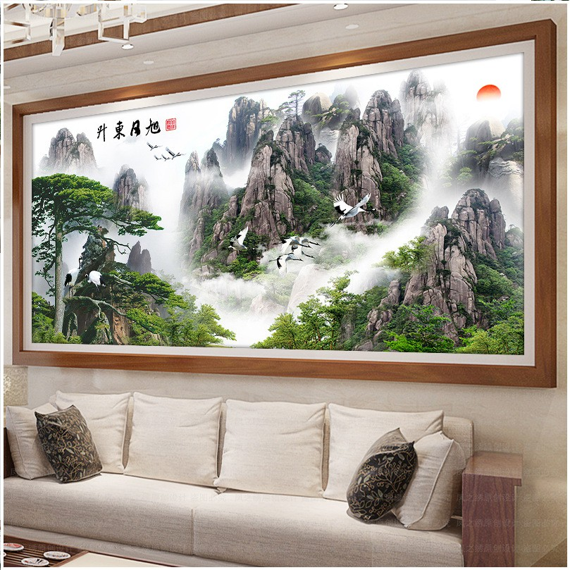 Tranh đính đá 5D Phong cảnh đẹp