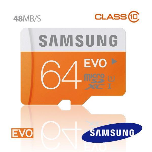 Thẻ nhớ 64gb Micro SD samsung Evo 48Mb