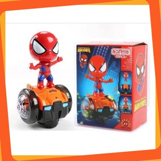 [SALE SIÊU SỐC] Bộ đồ chơi người nhện cưỡi xe thăng bằng cho bé siêu đẹp