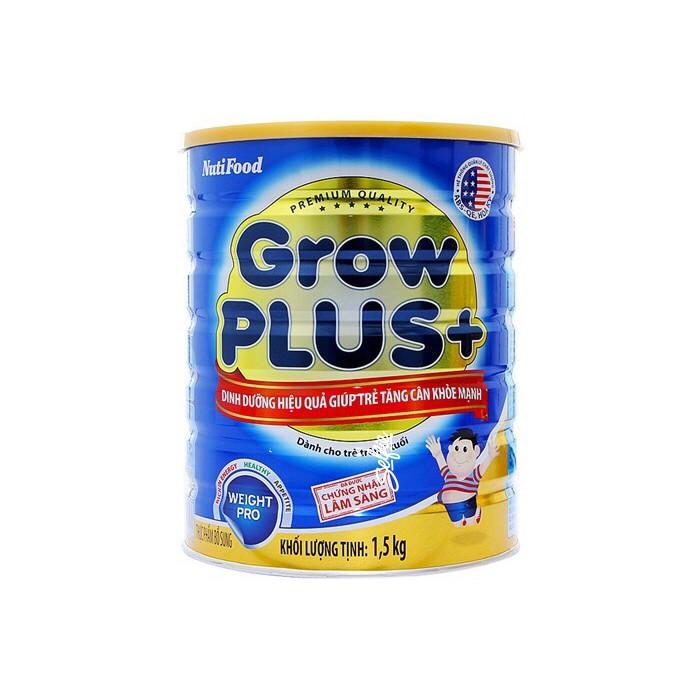 [TRỢ GIÁ]{nhập TKB2505 giảm 4%}  Sữa NutiFood Grow Plus + Xanh 1.5kg