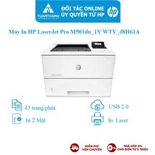 Máy in HP LaserJet Pro M501dn_1Y WTY_J8H61A