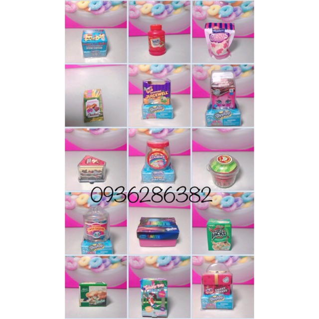 Shopkins- mini food season 12