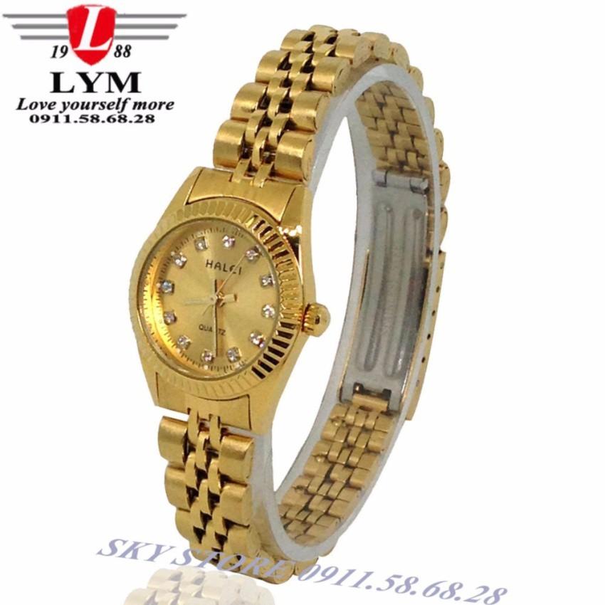 Đồng hồ nữ HALEI 555L dây thép không gỉ cao cấp (vàng) - 2524721 , 386867654 , 322_386867654 , 350000 , Dong-ho-nu-HALEI-555L-day-thep-khong-gi-cao-cap-vang-322_386867654 , shopee.vn , Đồng hồ nữ HALEI 555L dây thép không gỉ cao cấp (vàng)