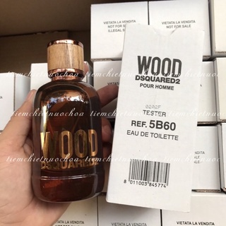 Tiemchietnuochoa_Nước Hoa Nam Tester Dsquared2 Wood Pour Homme EDT 100ml (box như hình,hình tự Shop chụp) thumbnail
