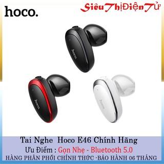 Tai nghe giá rẻ hoco E46 tai nghe bluetooth v4.2 dòng tai nghe có mic loại 1 tai-Tai nghe không dây tiện lái xe