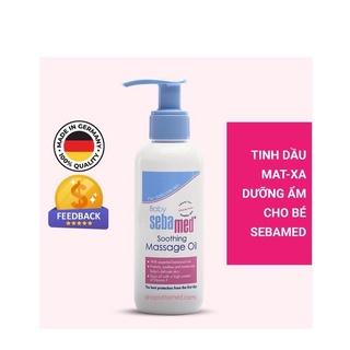 [NHẬP KHẨU CHÍNH HÃNG] Dầu Massage pH5.5 Cho Bé Dịu Nhẹ Baby Soomthing Massage Oil 150ml Sebamed thumbnail