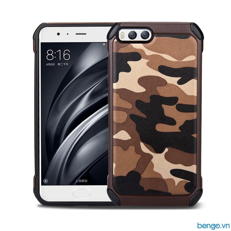 Ốp lưng Xiaomi Mi 6 họa tiết Quân đội - Camo series