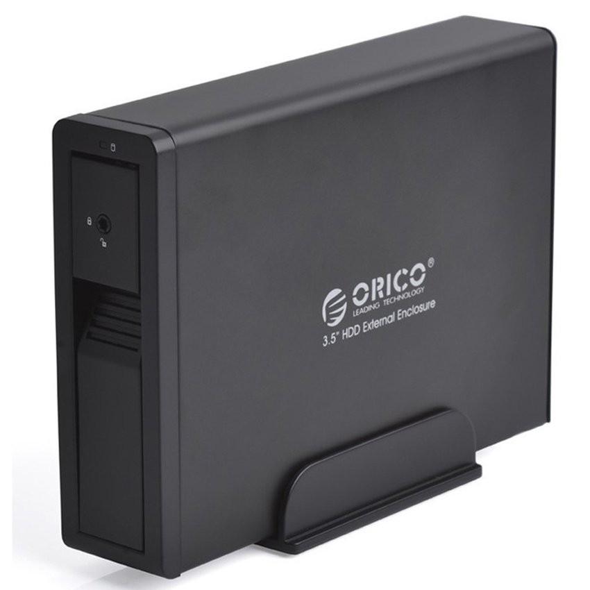 """Hộp đựng ổ cứng HDD Box 3.5"""" Orico 7618SUS3 (Đen) - Hàng phân phối chính hãng -Orico 7618SUS3 (Đen)"""