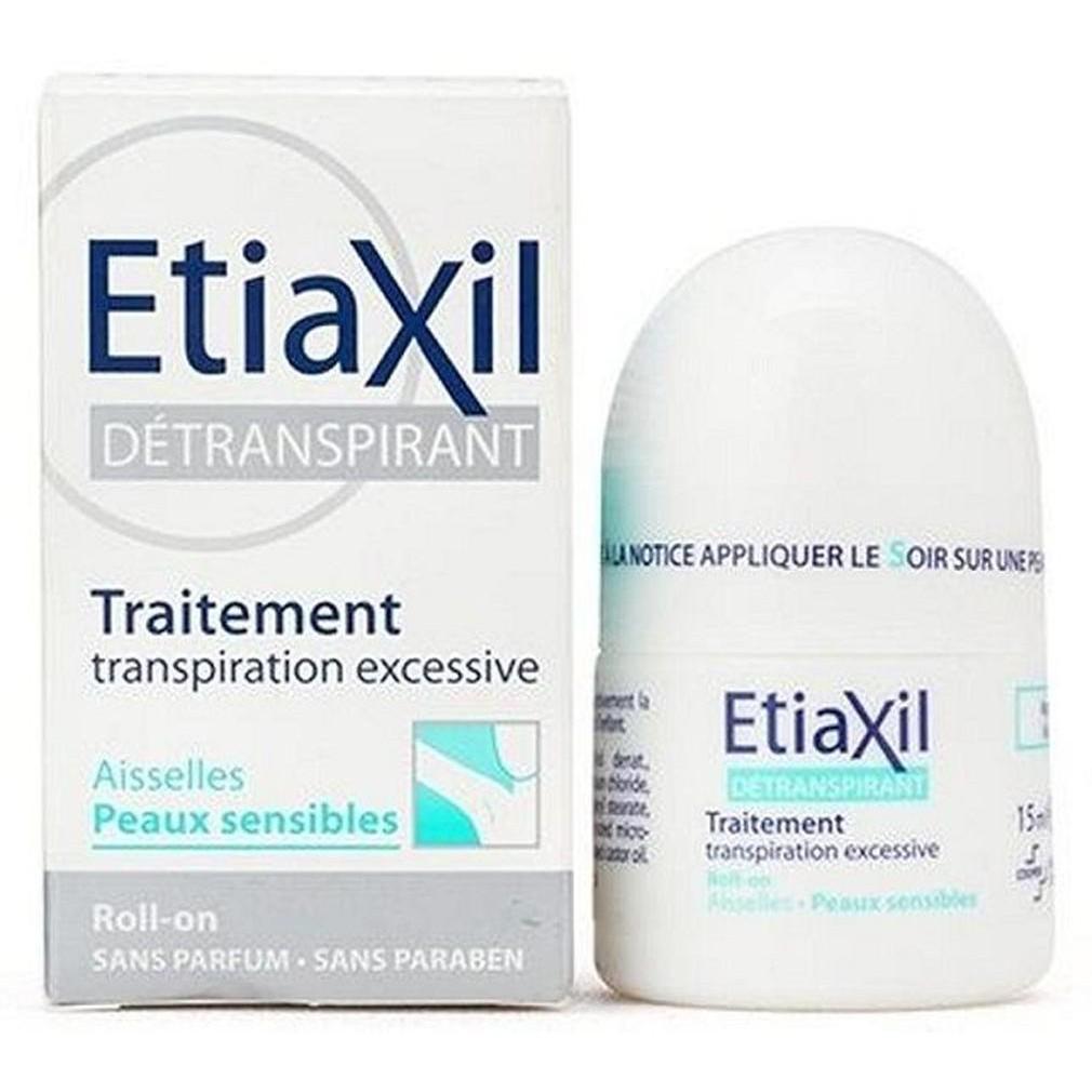 Combo 5 Lăn khử mùi hôi ETIAXIL dành cho da nhạy cảm 15ml