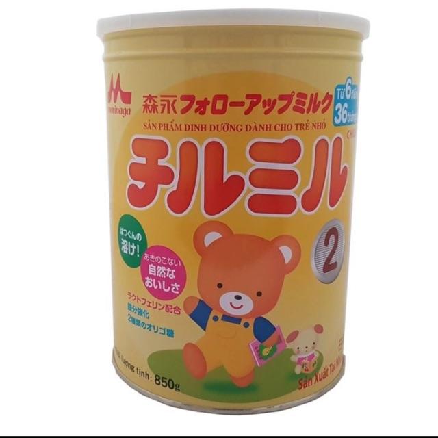 Sữa Morinaga số 2 lon 850g Date:2019