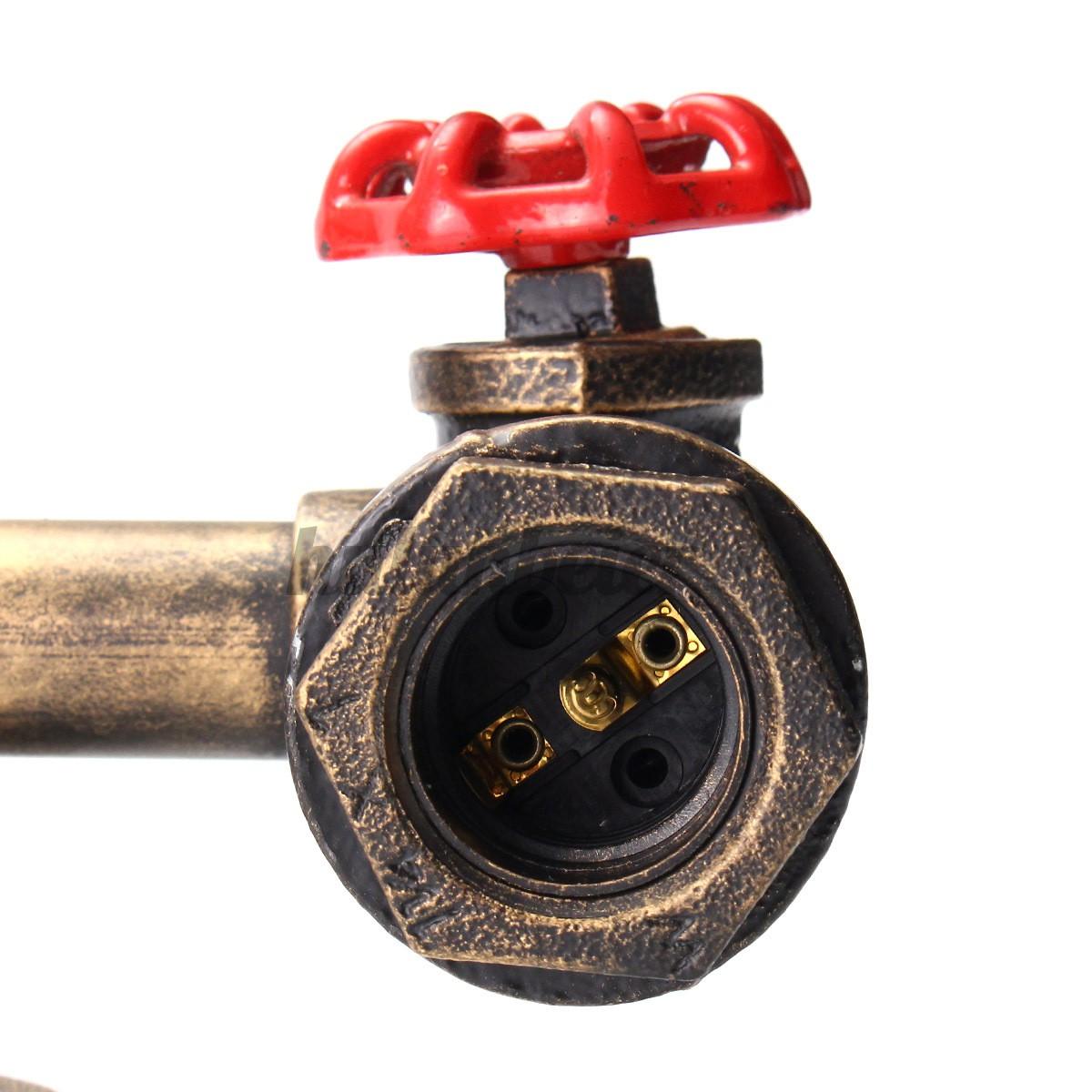 Chuôi Đèn Gắn Tường E27 Kiểu Dáng Vintage Sang Trọng