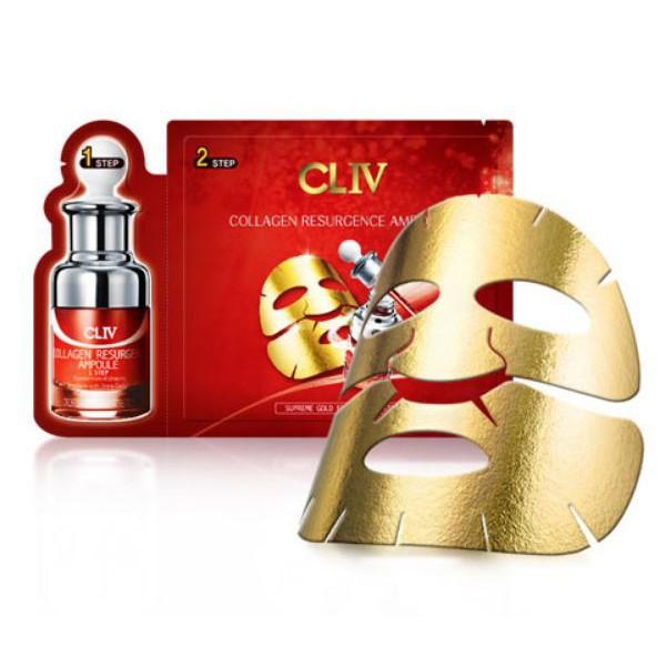BIG SALE - Mặt nạ CAO CẤP CLIV Collagen Resurgence Ampoule Gold Foil Mask. Korea - 2464853 , 997506068 , 322_997506068 , 20000 , BIG-SALE-Mat-na-CAO-CAP-CLIV-Collagen-Resurgence-Ampoule-Gold-Foil-Mask.-Korea-322_997506068 , shopee.vn , BIG SALE - Mặt nạ CAO CẤP CLIV Collagen Resurgence Ampoule Gold Foil Mask. Korea
