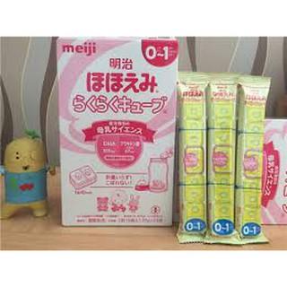 Bán lẻ sữa meiji thanh cho bé từ 0-1 tuổi. Thanh 27g date 26 11 2021 thumbnail