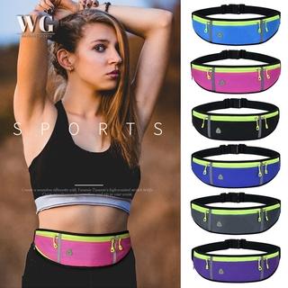 WPGY Running Belt Waist Pack with Water Bottle Holder for Men Women Waist Pouch Fanny Bag
