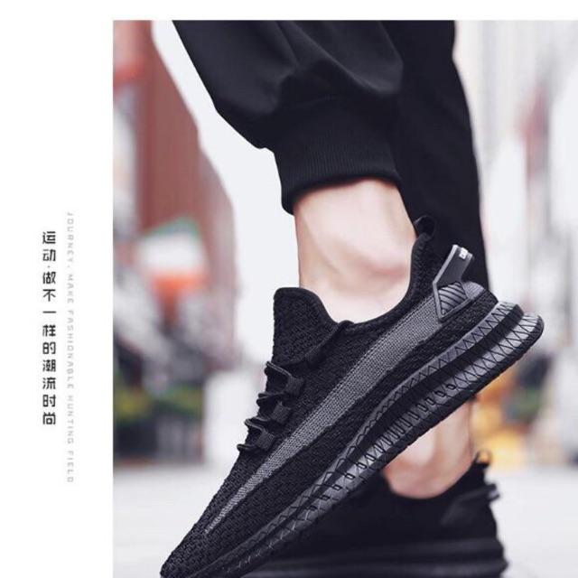 Giày thể thao nam màu đen phong cách siêu đẹp mã STT68 (Full Bux -Hàng Cao Cấp -Giá Rẻ -Đẹp -Trợ Giá